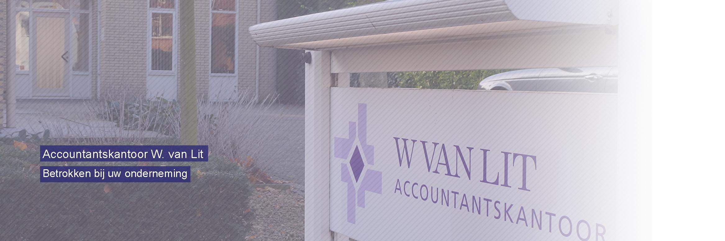 Accountantskantoor W. van Lit in Goes